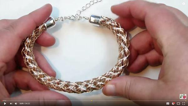 Kumihimo cadena