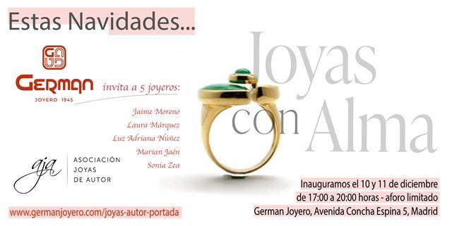 German Joyero expone piezas de integrantes de la Asociación Joyas de Autor