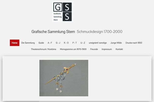 Colección Gráfica Stern - Ilustraciones de joyería 1700-2000