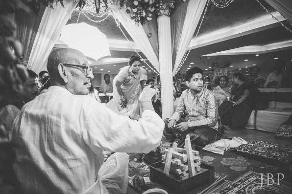 Candid Wedding Moment from Bengali Destination Wedding