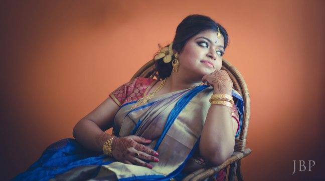 Portrait of a Bride | Fine Art Bengali Wedding | Candid Wedding Phtographer Kolkata