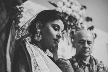 Bride during Bengali Wedding | Candid Wedding Photography Kolkata