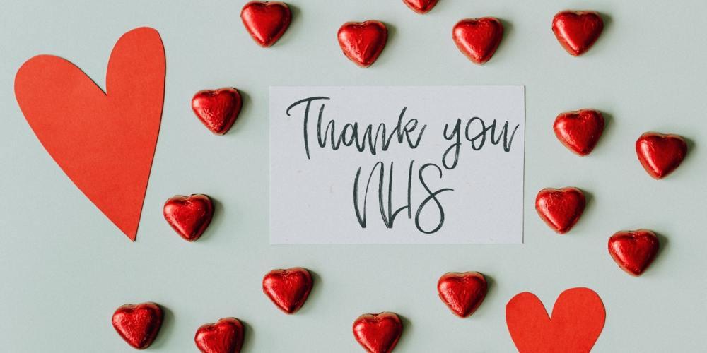 Thank you NHS & Karolina Grabowska