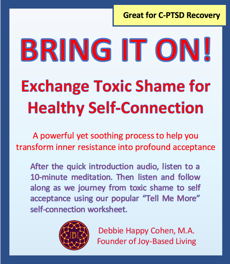Cover for Bring It On - Exchange Toxic Shame for Healthy Self Connection
