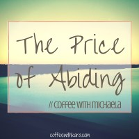 The Price of Abiding (1)