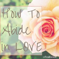 How To Abide in LOVE