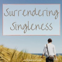 surrendering singleness (1)