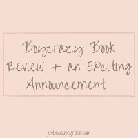 Boycrazy Book Review + Exciting Announcement