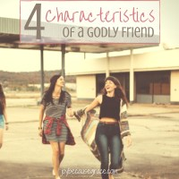 4 characteristics of a godly friend fb