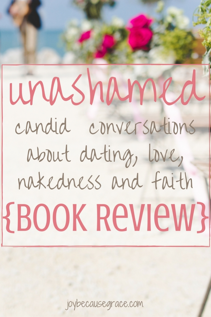 Here's my full review of Unashamed by Tracy Levinson, which is a great book for any girl who is single, dating, or engaged to read.
