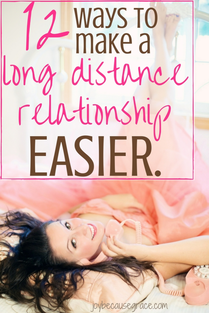 Being in a long distance relationship isn't easy. However, there are several simple and creative ways to make the distance easier to deal with.