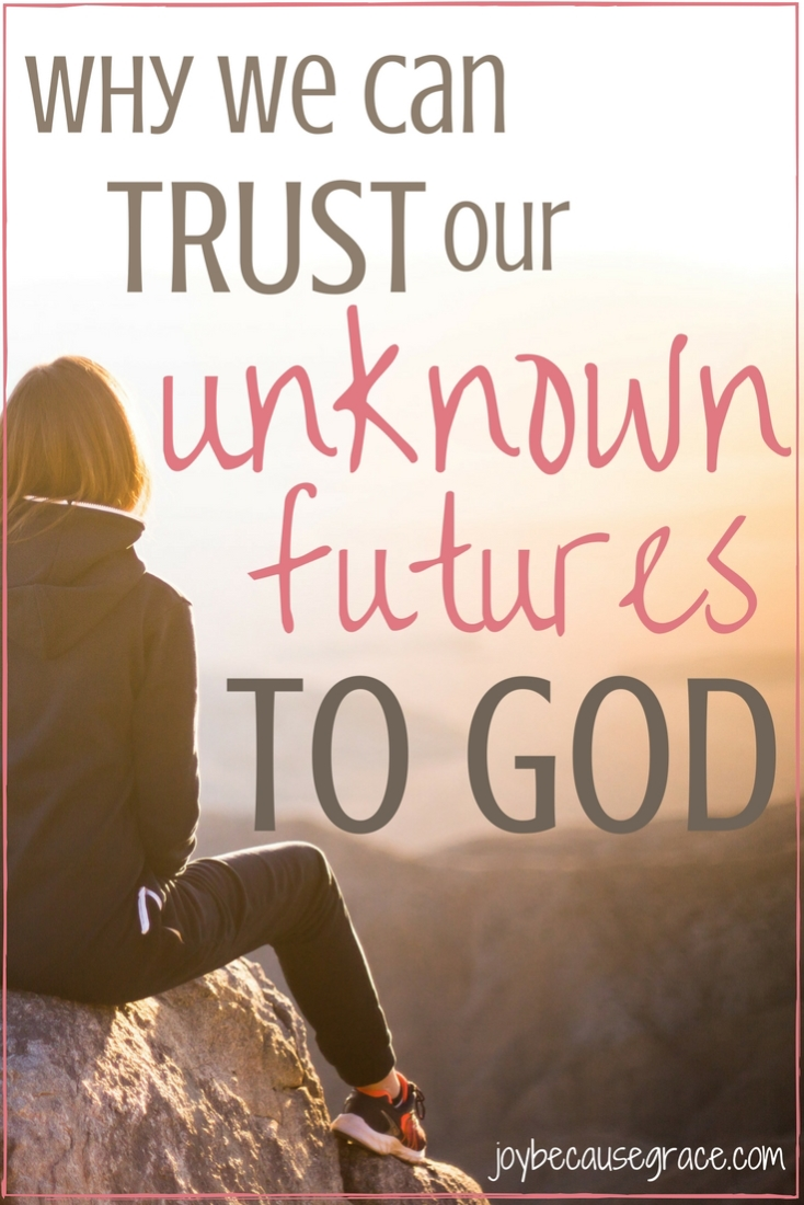 Is God trustworthy? Can we trust Him with our futures? Yes, and yes! Click through to find out why! ;)