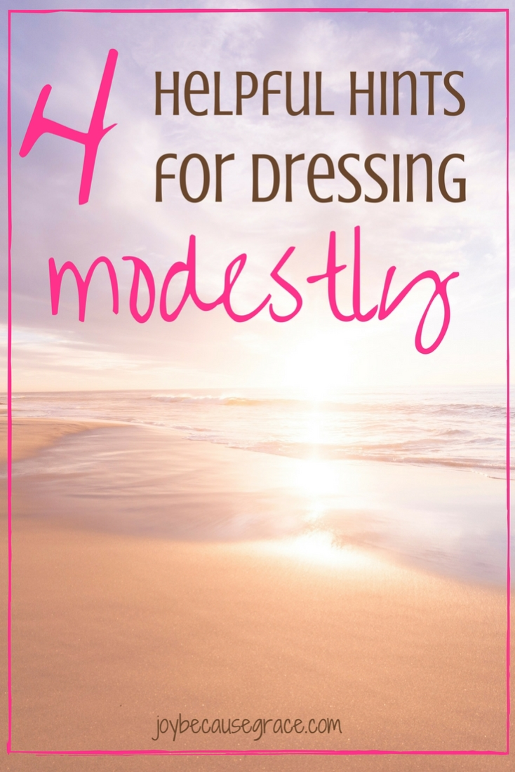 Figuring out how exactly to dress modestly can be a challenge, but here are four helpful hints for dressing modestly to get you started.