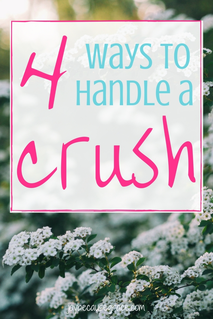 Having a crush on a guy is fun and exciting, but it can also be very hard. It's hard to control ourselves and our emotions in a proper and God-honoring way.