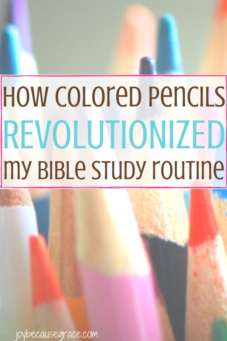 How Colored Pencils Revolutionized My Bible Study Routine