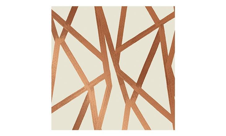 bronze intersections wallpaper