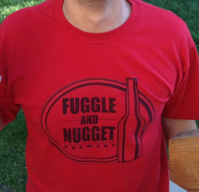 Fuggle and Nugget Brewers T-Shirt Design