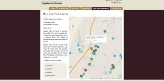 Custom Map Built with Google Maps API, Places API, Javascript and CSS
