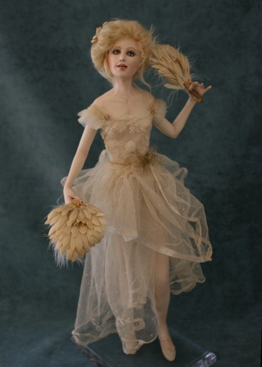 Sally - One of a Kind - Paper Clay - $1,850