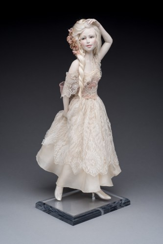 Lucia - One of a Kind - Paper Clay - $1,850