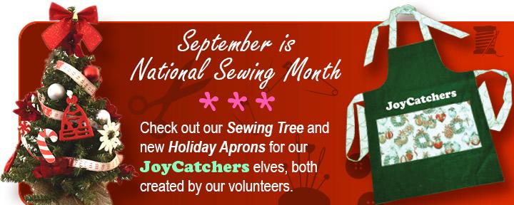 September Sewing Tree