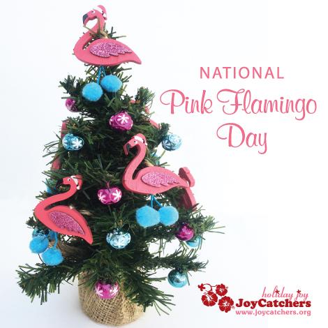 JC Pink Flamingo Tree