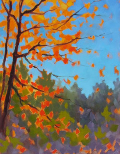 Leaves Flying
