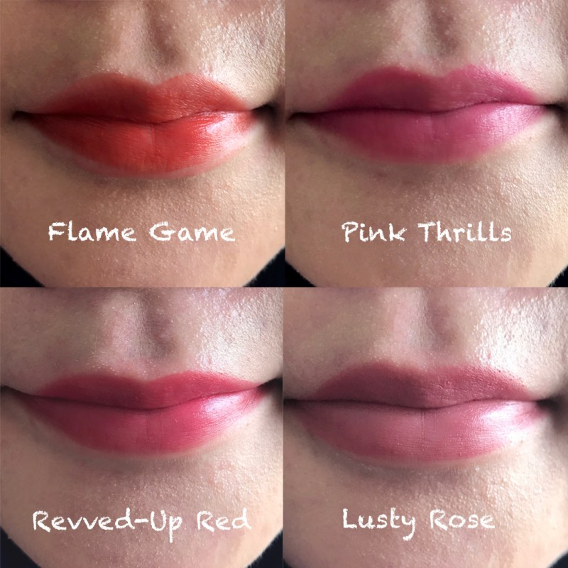 benefit they're real lipstick lip swatches