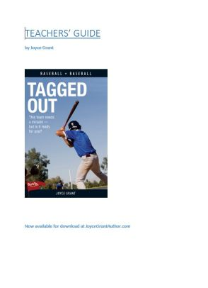 Capture Tagged Out teachers guide