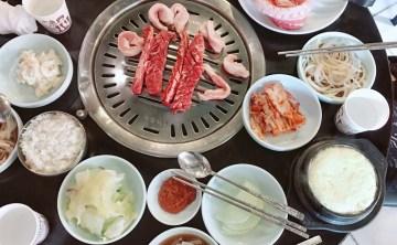 韓國首爾美食-地鐵新村站 正統道地超好吃的韓式烤肉 當地人大推薦『肉倉庫고기창고』不要再執著姜虎東拉~~~ ♥ 小Connie愛夢遊。食記