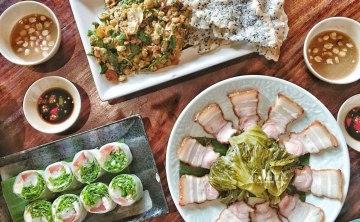 [越南胡志明市-美食推薦]隱藏在可愛鄉村餐廳內的道地越式料理『Ngoc Chau Garden』好吃又乾淨 ♥ 小Connie愛夢遊。遊記食記