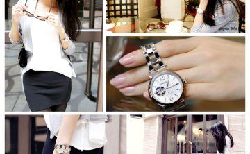 [配件] SEIKO LUKIA 台灣精工錶 鏤空開芯機械女錶♥♥時間就是最棒的禮物 林依晨代言錶款 ♥ JoyceWu。樂活