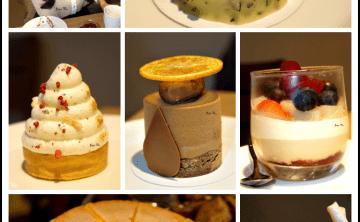 [法式。甜點] 新開幕♥ Le Ruban Pâtisserie 法朋烘焙甜點坊 石窯烤的一捲奶油雲蛋糕捲 22階千層  檸檬蛋糕  下午茶 (東區/國泰醫院旁) ♥ JoyceWu。食記