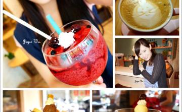 [已歇業!] 新開幕♥初映咖啡 Chu In Cafe 可愛冰淇淋鬆餅 烤布蕾 蛋糕 三明治 輕食 (中山商圈/捷運中山國小站)  ♥ JoyceWu。食記