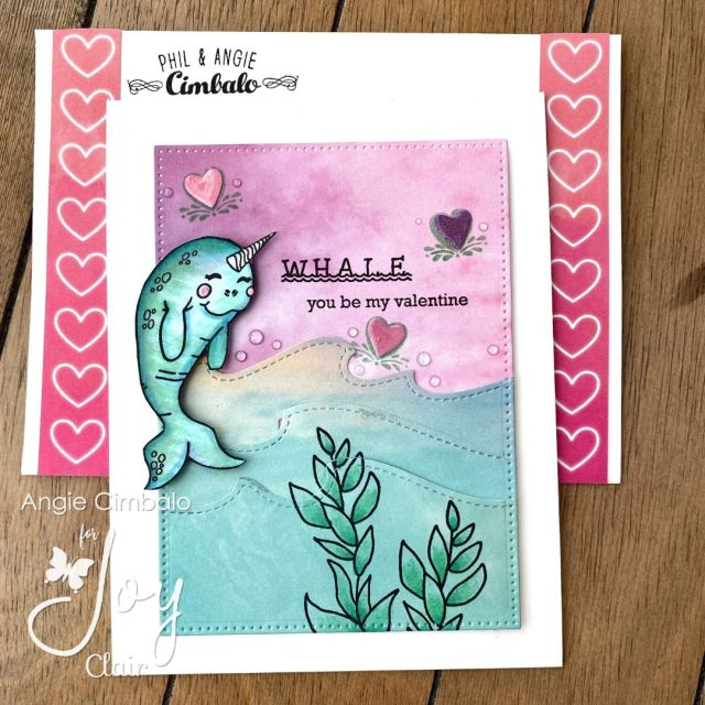Valentine's Day Cards with You're s'Whale, Valentine Background, Best Buds & Love Languages