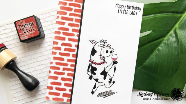 A DIY Birthday Card made with the new Go There stamp set