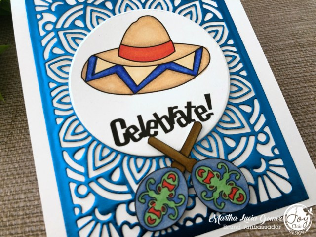 Spicy Like That Digital Set #cincodemayo #celebration #let'scelebrate #joyclairstamps #joyclairdesigns #stampedcards #medallioncoverdie #Mandala #rineafoiledpaper #rineainspire #rinea