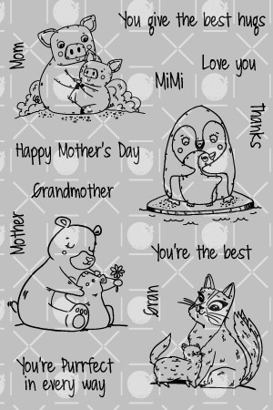 Mother's Day Love Stamp Set