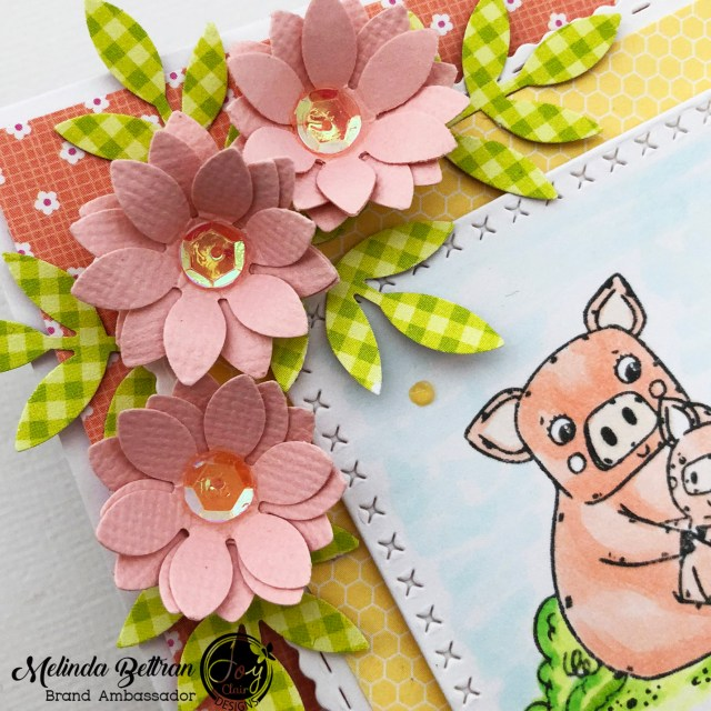 To embellish an easy diy mother's day card you can add cut flowers, sequins and drops in specific parts or layers.d sequins to this easy diy mother's day card makes it more special.
