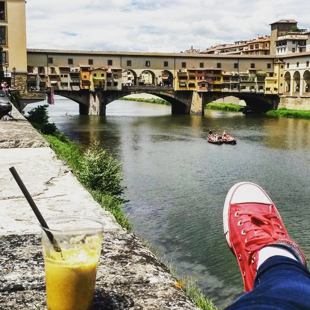 Instagram: It's about time to leave Florence and Italy
