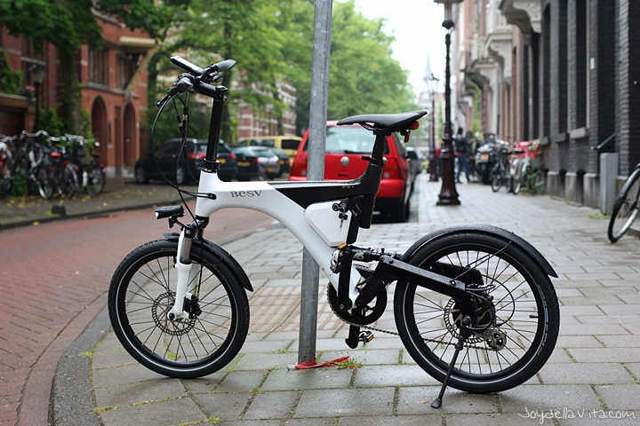 Test driving the BESV PS1 eBike in Amsterdam