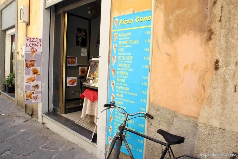 Pizza Cone Pisa JoyDellaVita