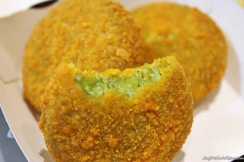 Croquettes with Parmesan Cheese and Spinach