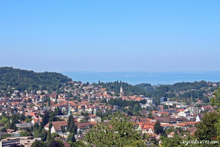 How far is St. Gallen from Lake Constance?