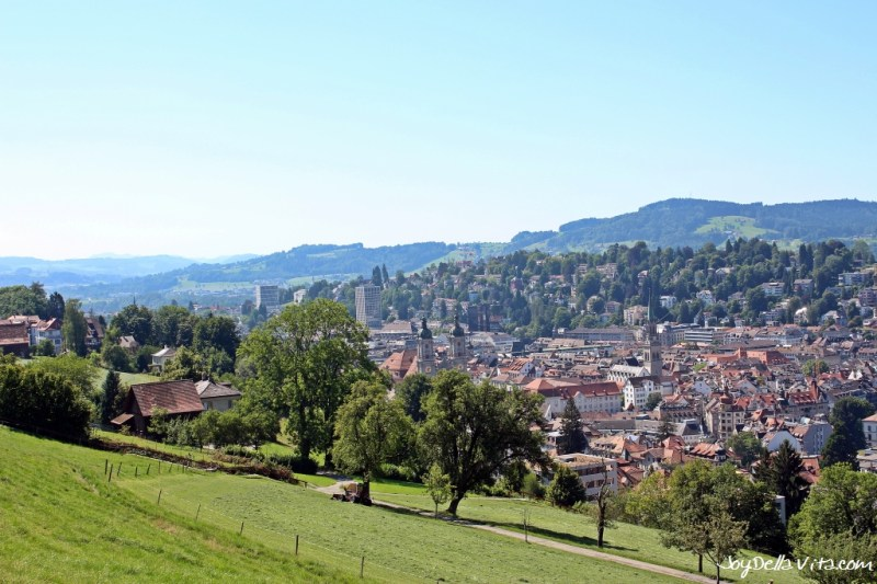 View from Dreilinden on St. Gallen