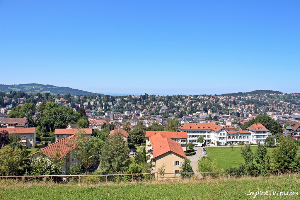 Places with a View in St. Gallen Switzerland