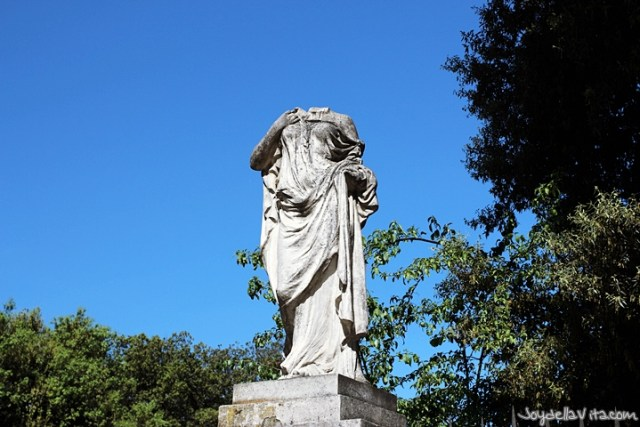 Villa Borghese Garden in Rome