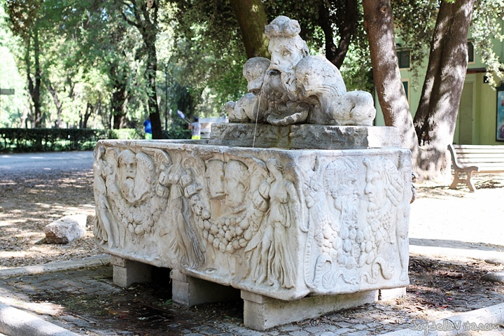 Villa Borghese Rome Garden