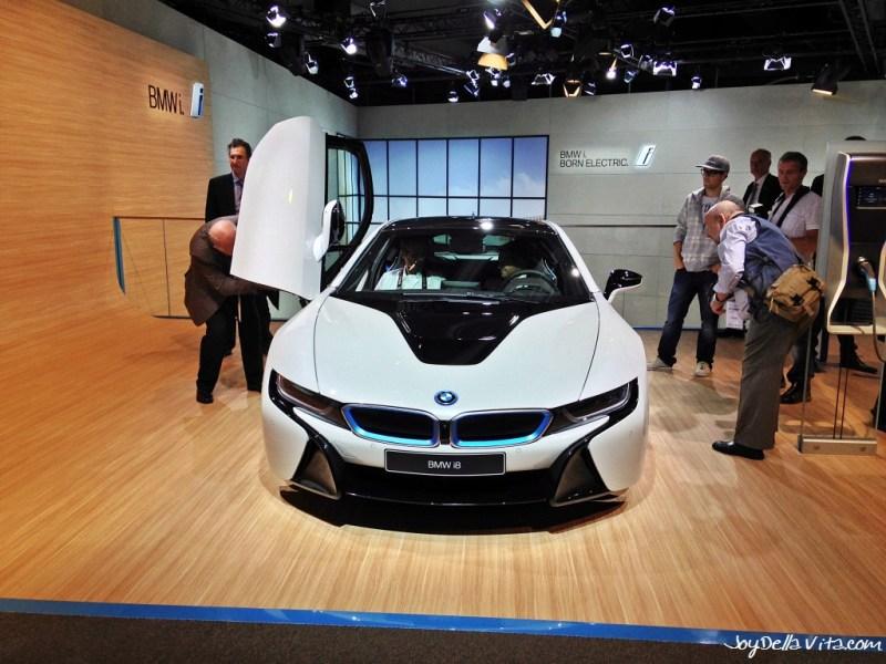 BMW i8 electric car