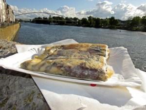 Apple-Nutella Pancake at Blinibar Maastricht